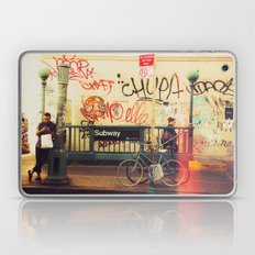 The Formerly Mean Streets of Williamsburg Laptop & iPad Skin