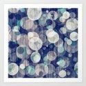 Bubblewood series n2 Art Print