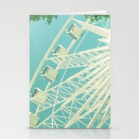 On The Ferris Wheel Stationery Cards