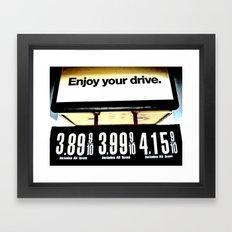 friendly Framed Art Print