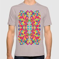 Kaleidoscope Mens Fitted Tee Cinder SMALL