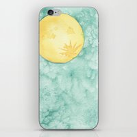 When The Moon Hits Your Eye iPhone & iPod Skin