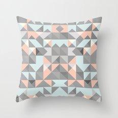 Triangular Pattern Throw Pillow