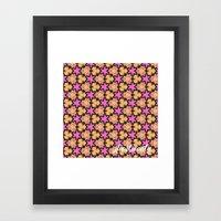 Pattern39 Framed Art Print