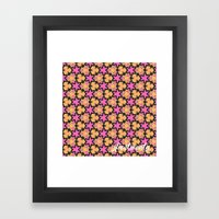 Pattern39 Framed Art Print