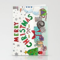 Christmas Card! Stationery Cards