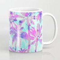 Maui Palm {Pink} Mug