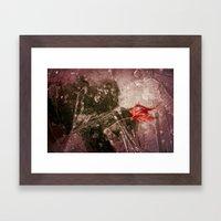 Autumn Frost Framed Art Print