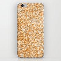 Metallic (Gold) iPhone & iPod Skin