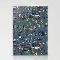 Teeny Tiny Galaxy Stationery Cards
