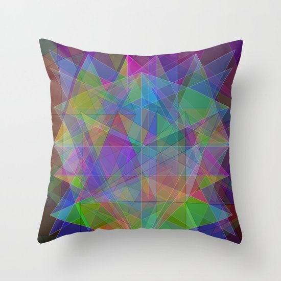 Gems Throw Pillow