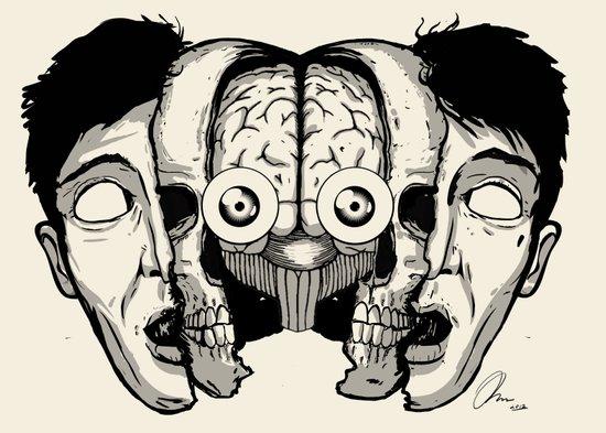 Expand your mind v.1 Art Print