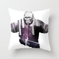 big animal Throw Pillow