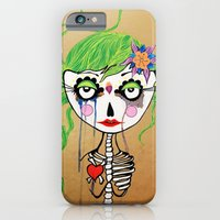 iPhone & iPod Case featuring Gueixa by Gabriela Von Gal