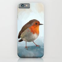 iPhone & iPod Case featuring Robin by Freeminds