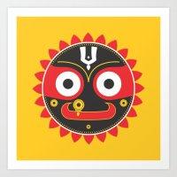 Lord Jagnnath Art Print