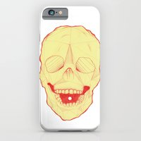 iPhone & iPod Case featuring Geometric Skull by Ethan Cherry