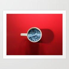 Seapression Art Print