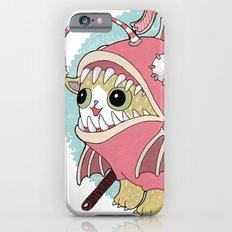 Aqua cat_Muka iPhone 6 Slim Case