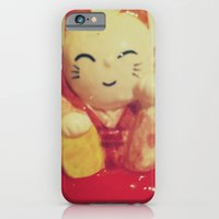 iPhone & iPod Case featuring Lucky by kangarooster