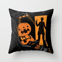 Are You Afraid of the Dentist? Throw Pillow