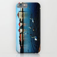 iPhone & iPod Case featuring Swan Lake by JuliHami