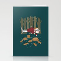 LumberJack Shark Stationery Cards
