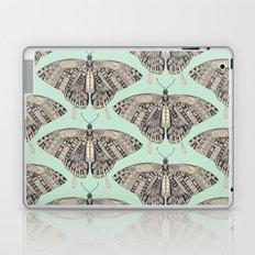 swallowtail butterfly mint basalt Laptop & iPad Skin