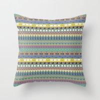 Berlin Pattern Throw Pillow