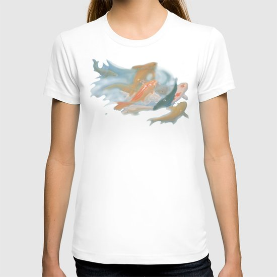 koi {white} T-shirt