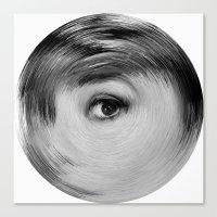 ArcFace - Audrey Hepburn… Canvas Print
