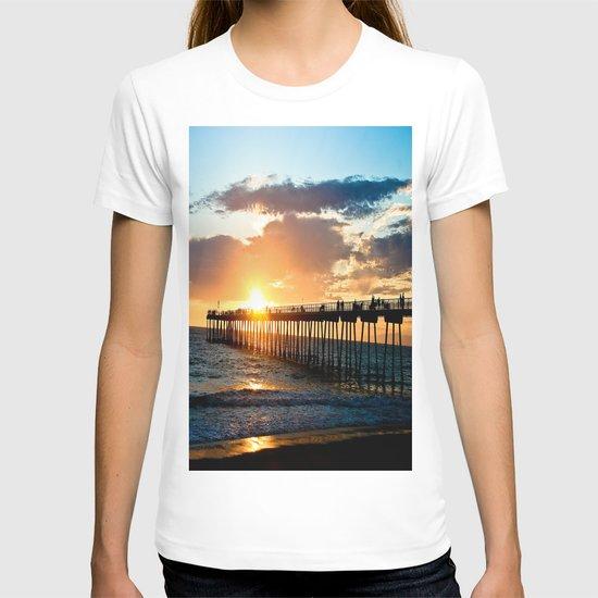 Hermosa Pier (2) T-shirt