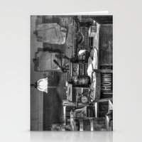 Old Office In Mono Stationery Cards