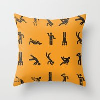 Breakit Throw Pillow