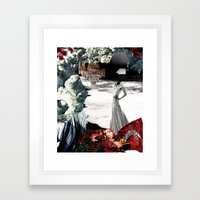 THE WAKE Framed Art Print