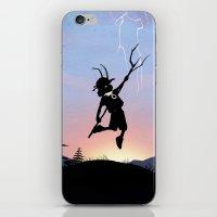 Loki Kid iPhone & iPod Skin