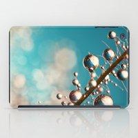 Heavenly Blue Smoke Drop… iPad Case