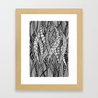 pattern Framed Art Print