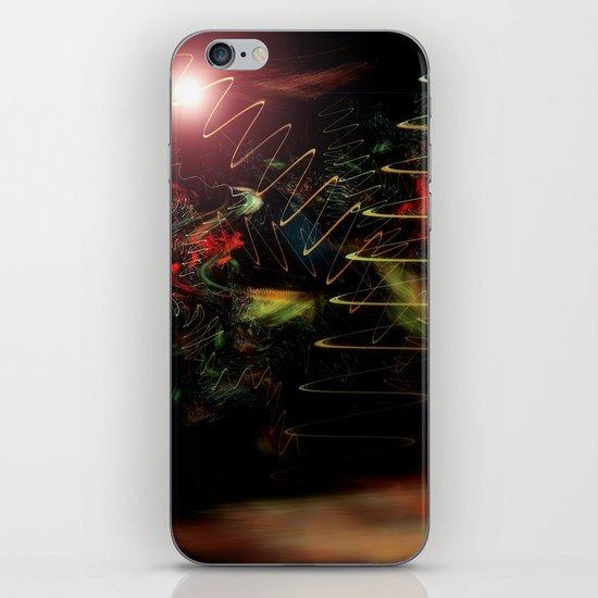 Christmas Tree Recycling iPhone & iPod Skin