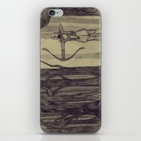 Legolas LOTR - the noisy silence of woods iPhone & iPod Skin