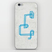 Letter E - Letter A Day Project iPhone & iPod Skin