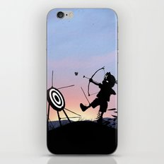 Hawkeye Kid iPhone & iPod Skin