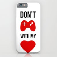 iPhone & iPod Case featuring Don't play with my heart by KARAM