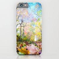 iPhone & iPod Case featuring Amongst the Leaves by Melissa Batchelder Photography