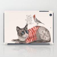 Snowshoes & Littlebird iPad Case