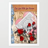 Our Love Will Last Forev… Art Print