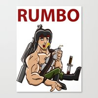 Rumbo - An Incredibly Vi… Canvas Print