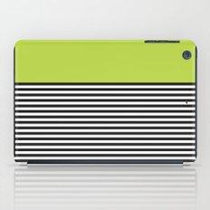 STRIPE COLORBLOCK {LIME} iPad Case