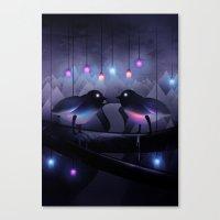 Disco Love (Revamp) Canvas Print