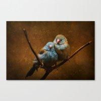 Male And Female Cordon B… Canvas Print